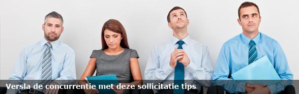 Sollicitatie tips