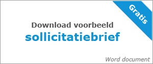 Sollicitatiebrief downloaden